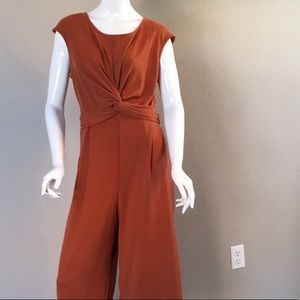 NWT Wide-Leg  Cropped Jumpsuit
